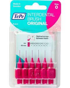 TePe Interdental-Brush original 0,4mm pink - 6 Stk.