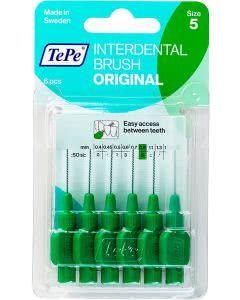 TePe Interdental-Brush original 0,8mm grün - 6 Stk.