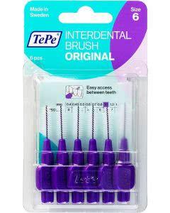 TePe Interdental-Brush original 1,1mm violett - 6 Stk.