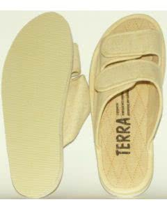 TERRA Zimt-Slipper lieferbar in 7 Grössen 35 bis 48