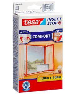 Tesa Comfort Fliegengitter Fenster weiss - 1.3 x 1.5m