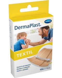 DermaPlast Textil Schnellverband 6x10cm - 10 Stk.