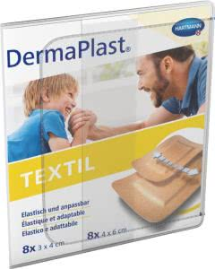 DermaPlast Textil Centro Strips - 16 Stk.
