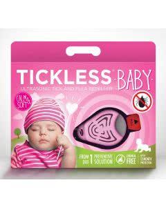 Tickless Baby - Zeckenschutz Ultraschall-Gerät - rosa