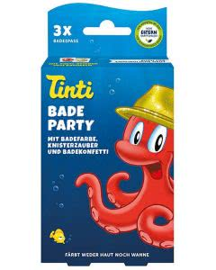 Tinti Badeparty 3er Pack - 3er Set