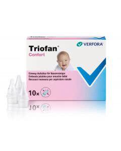 Triofan Confort Aufsätze Nasenreiniger - 10 Stk.