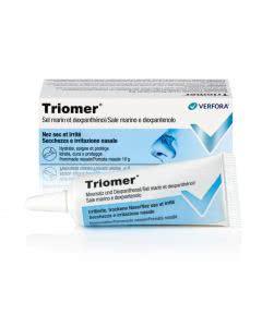 Triomer - Nasensalbe befeuchtend - 10g