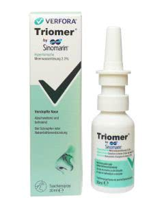 Triomer by Sinomarin - hypertonischer Nasenspray - 30ml