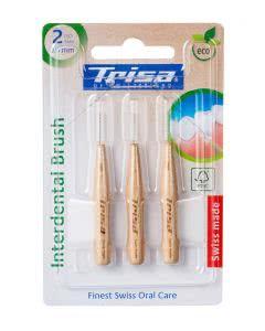 Trisa Interdental Brush ISO Size 2 Holz 0.9mm - 3 Stk.