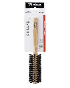 Trisa De Luxe Hair Style Natural Care SMALL RUND-Bürste mit Wildschweinborsten