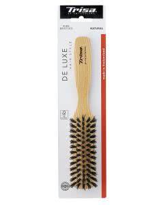 Trisa De Luxe Hair Style Natural Care MEDIUM Frisierbürste mit Wildschweinborsten