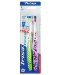 Trisa Zahnbürste Feelgood Smart Clean SOFT Duo-Pack