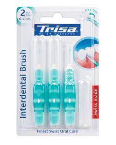 Trisa Interdental brush flexible ISO 2 - 0.9 mm - 3 Stk.