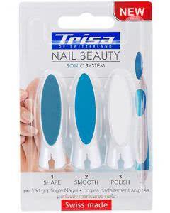 Trisa Nail Beauty Sonic System - Nagelpflegesystem - Ersatzfeilen - 3Stk.