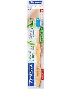 Trisa Natural Clean Holzzahnbürste Young soft - 1 Stk.