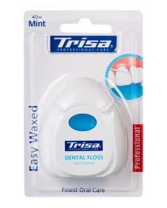 Trisa Dental Floss - Easy Waxed  Mint - Zahnseide - 40m