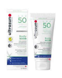 Ultrasun Body Mineral SPF50 - 100ml