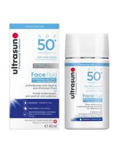 Ultrasun Face Fluid Brightening & Anti-Pollution PF50+ - 40ml
