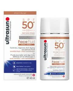 Ultrasun Face Fluid Tinted Honey SPF50+ - 40ml