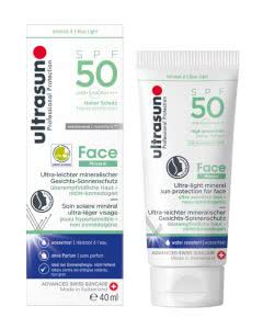 Ultrasun Face Mineral SPF50 - 40ml