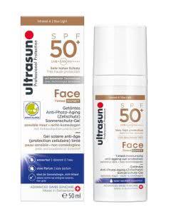 Ultrasun Face Tinted SPF 50+ Honey - 50ml