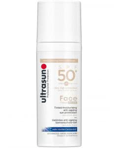 Ultrasun Face Anti-Age SPF 50+ Tinted IVORY - 50 ml