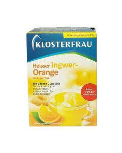 Klosterfrau Ingwer-Orange Heiss-Getränk - 10x15g