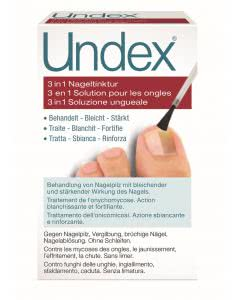 Undex 3 in 1 Nageltinktur mit Pinsel - 7ml