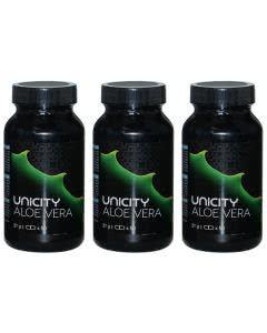 Spar-Set: Unicity Aloe Vera - 3x50 Kapseln