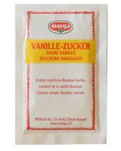 Morga Vanille Zucker - 15 x 20 g