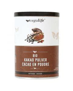 Vegalife Kakao Pulver fettarm Dose - 125g