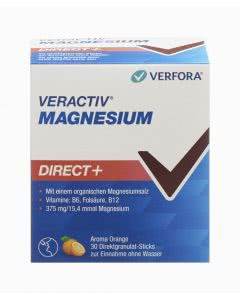 Veractiv Magnesium direct+ -  Orange - 30 Sticks