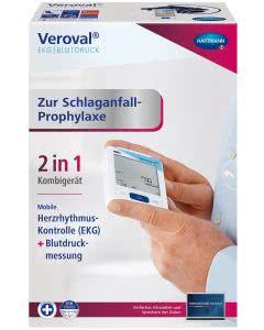 Veroval EKG- (Schlaganfall-Prophylaxe) und Blutdruckmessgerät