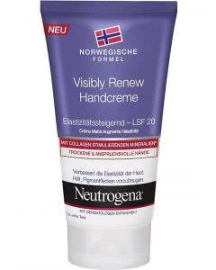 Neutrogena Visibly Renew Handcreme mit LSF 20 - 75ml