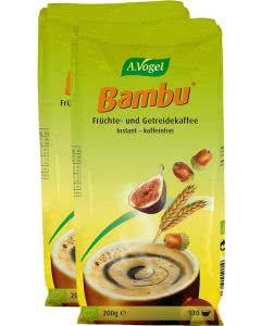 A. Vogel Bambu Früchte- und Getreidekaffee - Nachfüllbeutel DUOPACK - 2x200g