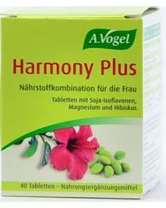 A. Vogel - Harmony plus - Hopfen, Soja, Leinsamen - 30 Tabl.