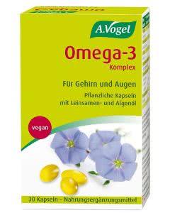 A. Vogel - pflanzliches Omega-3 Komplex - 30 Kaps.
