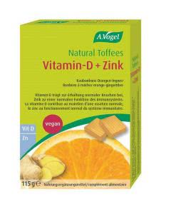 A. Vogel Natural Toffees Vitamin-D + Zink - 115g - 28 Stk. Toffees