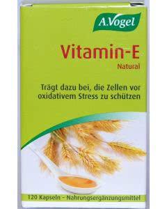 A. Vogel - Vitamin E Kapseln (früher: Weizenkeimoel) - 120 Stk.