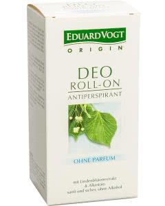 Eduard Vogt Deo - Roll-On ohne Parfum - 50ml