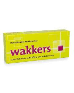 Wakkers Energy Coffein - Taurin - Vitamin B - 22 Lutschtabletten