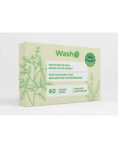 Washo Waschstreifen ohne Duft - 60 Stk.