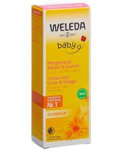 Weleda Calendula Pflegecreme Körper und Gesicht Baby  - 75 ml