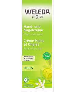 Weleda Citrus Hand- und Nagelcrème - 50 ml