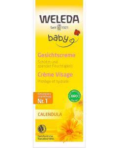 Weleda Baby Calendula Gesichtscreme - 50 ml