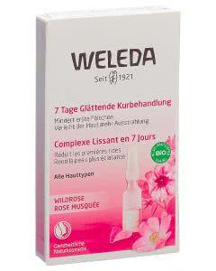 Weleda Wildrose 7 Tage Glättende Kurbehandlung - 7 x 0.8 ml