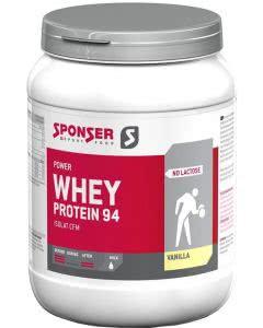 Sponser Whey Protein 94 Vanille - 850 g