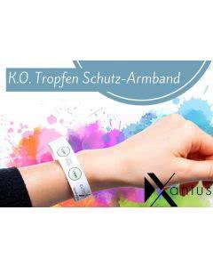 Xantus K.O.-Tropfen Schutz-Armband - 2 Stk. mit je 2 Tests