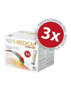 XLS Medical 3 EXTRA-FORTE Fettbinder - 90 Sticks