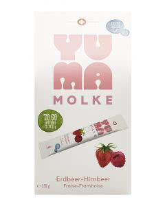 Yuma Molke Sticks Erdbeer-Himbeer - 14 x 25g
